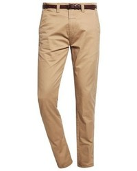 Pantalon chino brun clair Dstrezzed