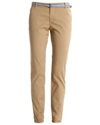 Pantalon chino brun clair Esprit