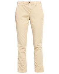 Pantalon chino brun clair Gap