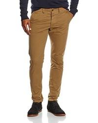 Pantalon chino brun clair Jack & Jones