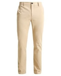 Pantalon chino brun clair Pier One