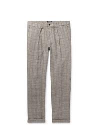 Pantalon chino écossais gris Todd Snyder