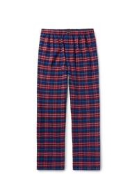 Pantalon chino écossais multicolore Balenciaga