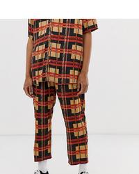 Pantalon chino écossais multicolore Reclaimed Vintage