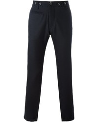 Pantalon chino en laine bleu marine Barena