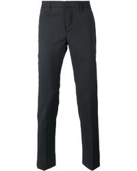 Pantalon chino en laine bleu marine Dondup