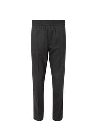 Pantalon chino en laine gris foncé Acne Studios