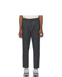 Pantalon chino en laine gris foncé Aimé Leon Dore