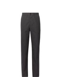 Pantalon chino en laine gris foncé Oliver Spencer