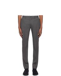 Pantalon chino en laine gris foncé Ps By Paul Smith