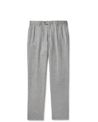 Pantalon chino en laine gris Loro Piana