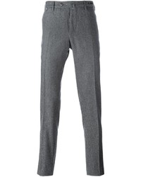 Pantalon chino en laine gris Pt01