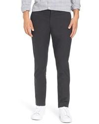 Pantalon chino en laine noir