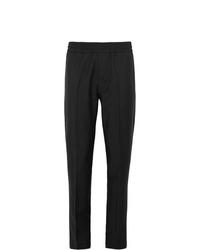 Pantalon chino en laine noir Acne Studios