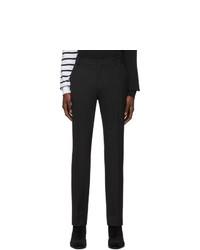Pantalon chino en laine noir Balmain
