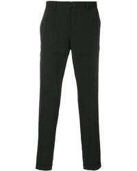 Pantalon chino en laine noir Dolce & Gabbana