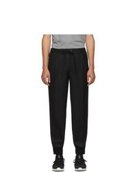 Pantalon chino en laine noir Moncler