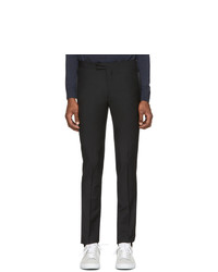 Pantalon chino en laine noir Paul Smith