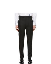 Pantalon chino en laine noir Paul Smith
