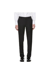 Pantalon chino en laine noir Tiger of Sweden