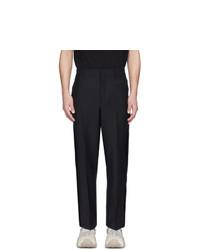 Pantalon chino en laine noir Valentino