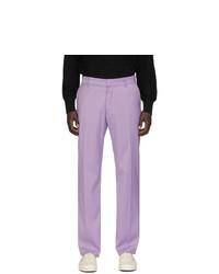 Pantalon chino en laine violet clair Noon Goons