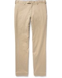 Pantalon chino en sergé brun clair Polo Ralph Lauren