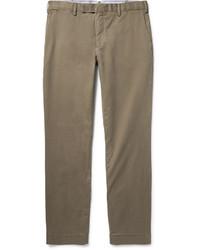 Pantalon chino en sergé brun Polo Ralph Lauren