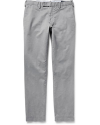 Pantalon chino en sergé gris Polo Ralph Lauren