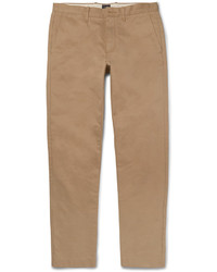 Pantalon chino en sergé marron clair J.Crew