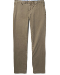 Pantalon chino en sergé marron Polo Ralph Lauren