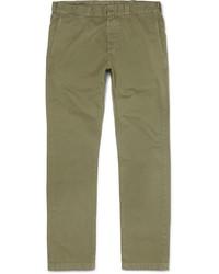 Pantalon chino en sergé olive J.Crew