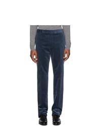 Pantalon chino en velours côtelé bleu marine Ralph Lauren Purple Label
