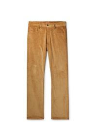 Pantalon chino en velours côtelé marron clair Missoni