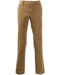 Pantalon chino en velours côtelé marron clair Polo Ralph Lauren