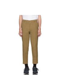 Pantalon chino en velours côtelé marron Dickies Construct