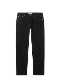 Pantalon chino en velours côtelé noir Belstaff