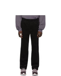 Pantalon chino en velours côtelé noir Norse Projects