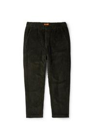 Pantalon chino en velours côtelé olive Barena