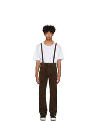 Pantalon chino en velours côtelé olive VISVIM