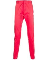 Pantalon chino fuchsia