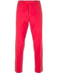 Pantalon chino fuchsia Carven
