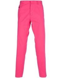 Pantalon chino fuchsia DSquared