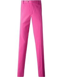 Pantalon chino fuchsia Etro