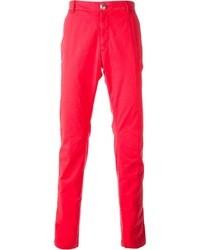 Pantalon chino fuchsia Hydrogen