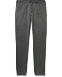Pantalon chino gris foncé