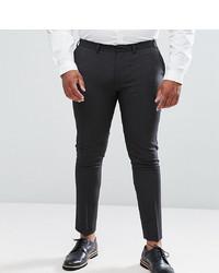 Pantalon chino gris foncé ASOS DESIGN