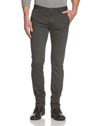 Pantalon chino gris foncé Boss Orange