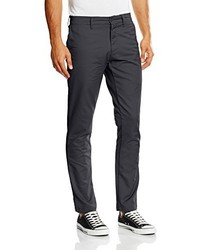 Pantalon chino gris foncé Carhartt