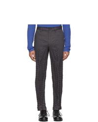 Pantalon chino gris foncé Issey Miyake Men